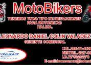 $$$ se vende refacciones para motonetas italika 150cc. nuevas$$$
