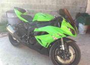 Vendo motosicleta kawasaki modelo 2009 en perfectas conficiones zx6r