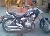 Motocicleta choper dinamo remato