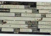 Motor caterpilar 3406