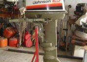 Motor fuera de borda  usado 25 hp johnson