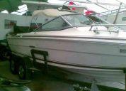 Lancha bote yate barco sea ray cap 8 personas 228hp