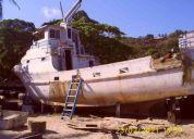 Busco un cascote de barco