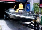 Lancha de pesca 19 pies, 200 hp ofrezca tomo unidad!!!