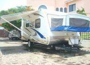 2007 travel trailer hybrid 19 pies como nuevo