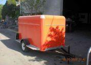 Remolques para transporte de carga, motos , alimentos y proyectos especiales