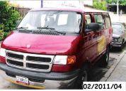 Ram wagon 1500 pasajeros 6 cilindros lujo
