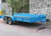 Remolque marca tavaci 6 tons. super oferta $35,000 pesos de contado recién pintado venta