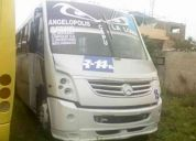 Autobus mercedes benz 2007 zafiro mediano 37 asientos de plastico