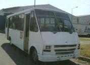 Microbus chevrolet 2003 vaneteza 31 asientos de tela