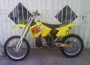Motocross suzuki 250 cc 2 tiempos