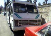 Vendo microbus chevrolet modelo 1991 alfa en buen estado