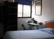 Se renta cuarto amueblado, compartido (dos hombres ó dos mujeres), ideal para estudiantes.