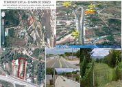 Terreno comercial en compra, calle internacional 190, col. nandambua 1a secc, chiapa de corzo, chiap