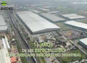 Bodega industrial en renta, calle los olivos, col. los olivos, tláhuac, distrito federal