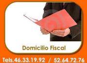 Domicilio fiscal en la colonia roma desde $ 750 pesos