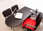 Renta de oficinas físicas privadas desde $1,000.00 mensuales!