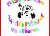 Servicio profesional de niñeras, kids care center, area cuernavaca
