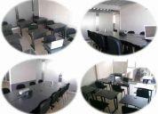 Renta de sala juntas, capacitacion y videoconferencias