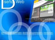 Diseño de páginas web, económicas en monterrey.