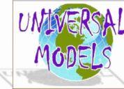 Casting,  modelos, actores, extras, voces.