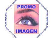 Publicidad impresa, edecanes, reparto de volantes, ...agencia promoimagen