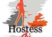 Contrata los servicios de demostradoras, hostess y promotores.