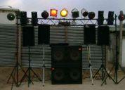 Renta de sonido profesional
