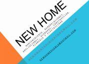 New home mantenimiento, albercas, remodelaciones, ampliaciones, acabados, carpinteria, con