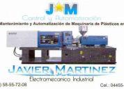 servicio y mantenimiento a maqs. de inyecciÓn de plÁstico