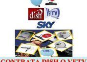 Dish y sky de tijuana contratalo al tel 6382346