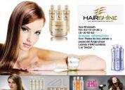 Pury, hair shine, tratamientos capilares, esteticas