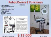 Robot derma 8 funciones