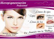 Micropigmentacion - delineado permanente