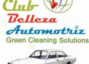 Lavado ecolÓgico de autos a domicilio