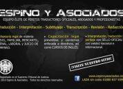 ✔ agencia de traducción, perito traductor oficial – inglés/español/inglés - puebla