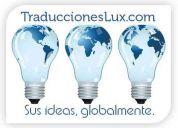Servicio de traducciones profesionales inglés español en méxico