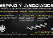 ✔ perito traductor oficial inglés/español/inglés - morelia, michoacán