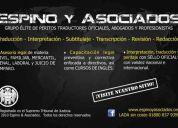 ✔ perito traductor oficial – inglés/español/inglés – carmen, campeche
