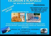ExcursiÓn a acapulco