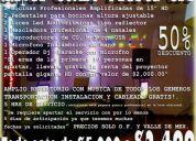 Combo fiesta total  audio iuminación dj $2499 gratis renta proyector 96276096