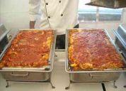 Buffets italianos,  banquetes de tiempos, bocadillos,  alimentacion en general