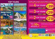 Excursiones y tours en cancún y la rivera maya