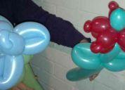 Areglos de flores de globos