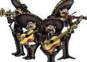 Mariachi, minimariachi, cuartetos y trios de mariachi.