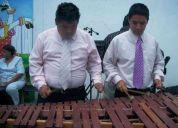 A 750 marimbas, gpos y tecladistas en df