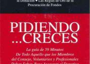 Libro pidiendo...creces en español para procuración de fondos