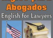English for lawyers (inglés para abogados)