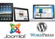 Curso de diseño web joomla & wordpress