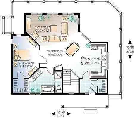 Ejercicios autocad planos casas deptos envio gratis - Cad casa gratis ...